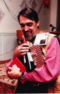 Karel after receiving his PhD in 1988