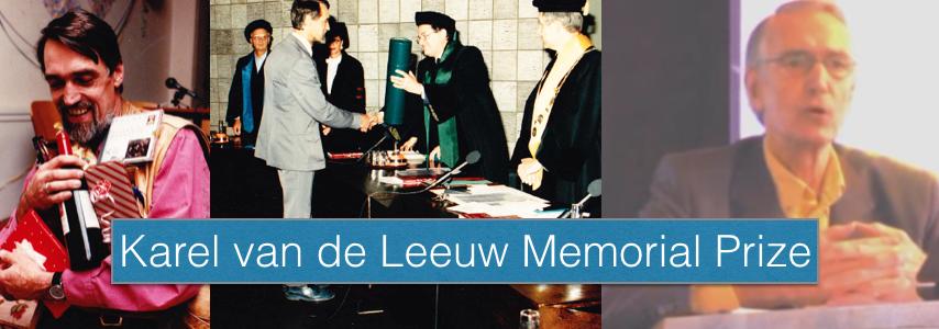 Karel van de Leeuw Memorial Prize